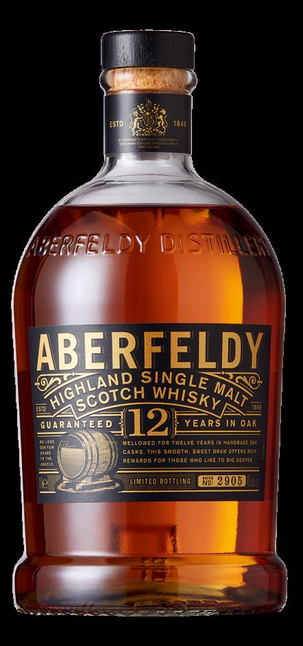 Botella Aberfeldy 12 años