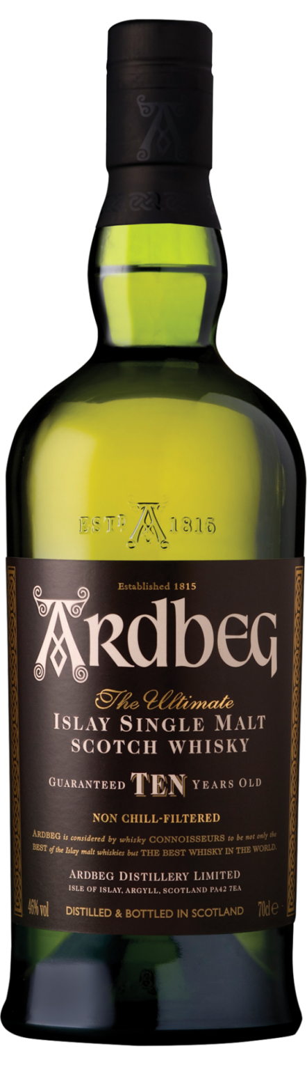 Botella Ardbeg 10 años