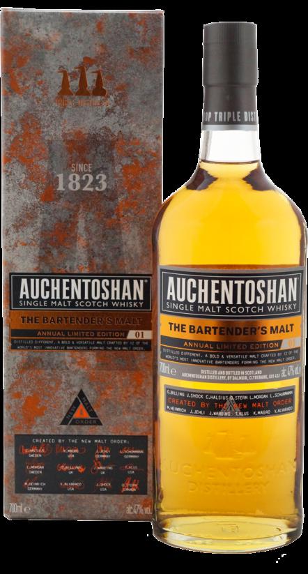 Botella Auchentoshan The Bartender's Malt