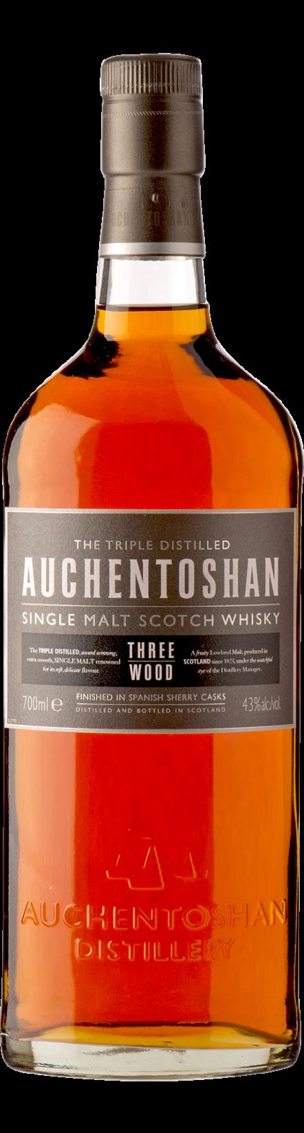 Botella Auchentoshan Three Wood
