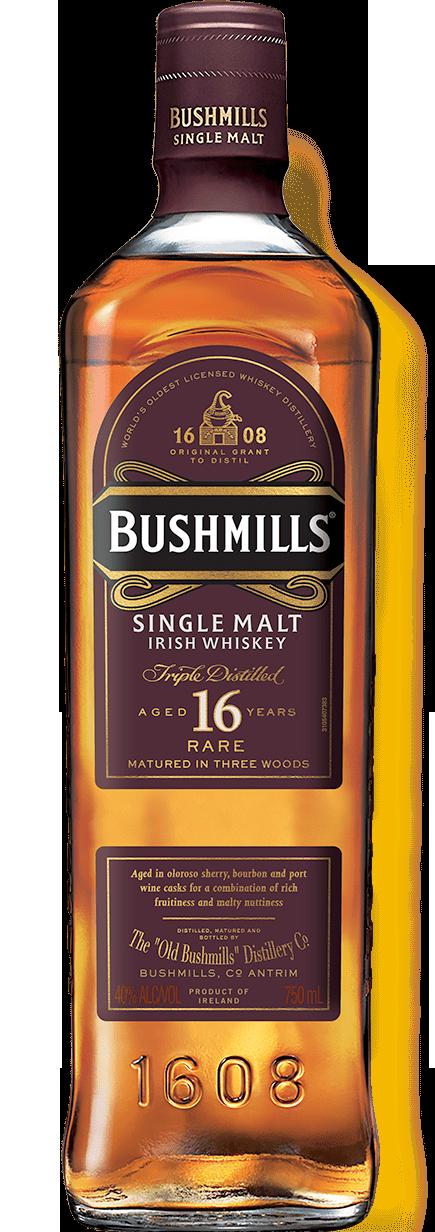 Botella Bushmills 16 años
