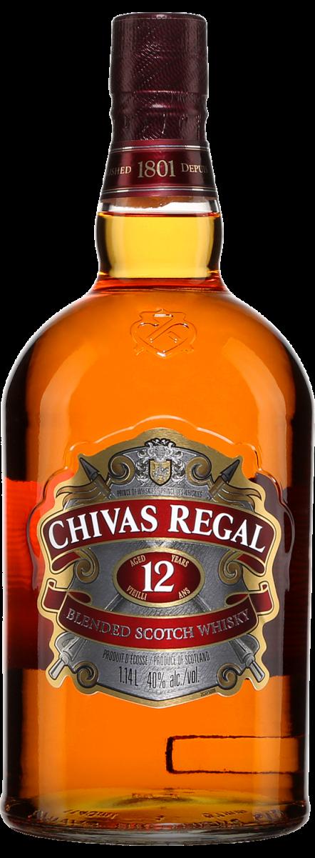 Botella Chivas Regal 12 años