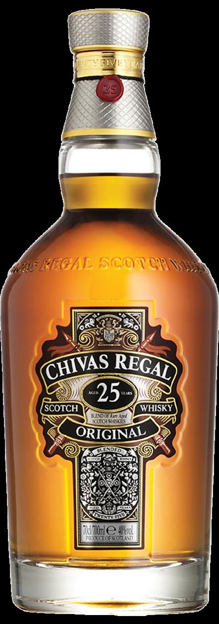Botella Chivas Regal 25 Años