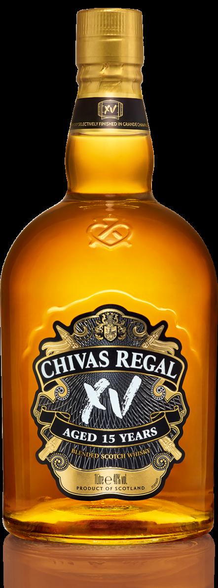 Botella Chivas Regal XV 15 años
