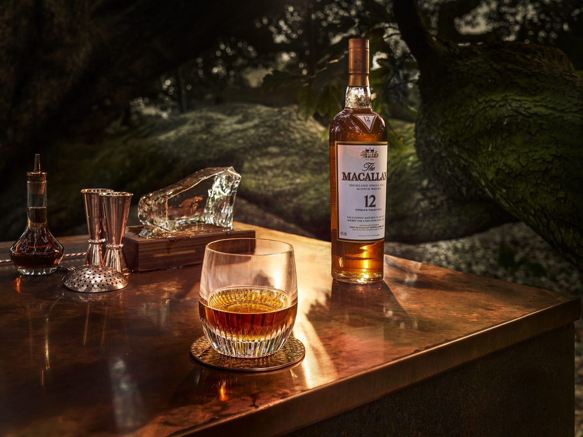 Beber whisky solo