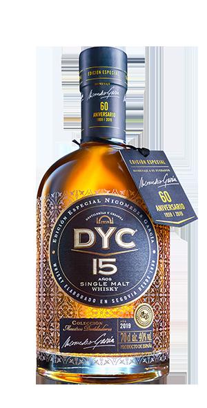 Botella DYC 15 años