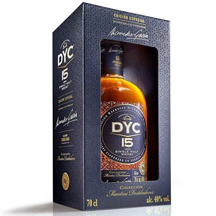 DYC 15 años con caja
