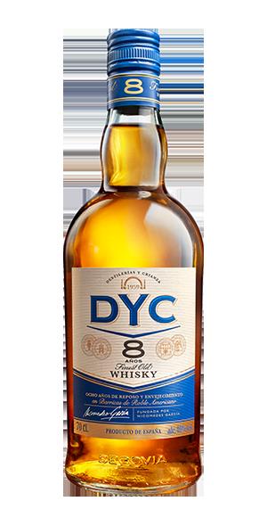 Botella DYC 8 años