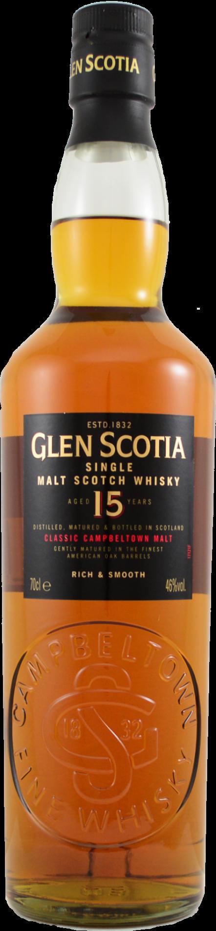 Botella Glen Scotia 15 años