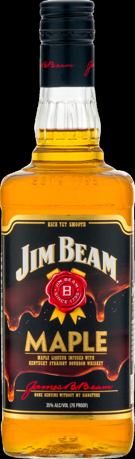 Botella Jim Beam Maple