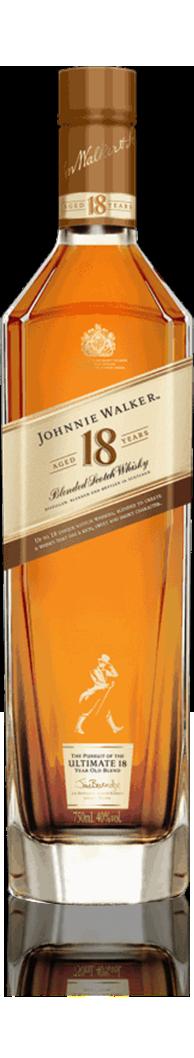 Botella Johnnie Walker 18 años