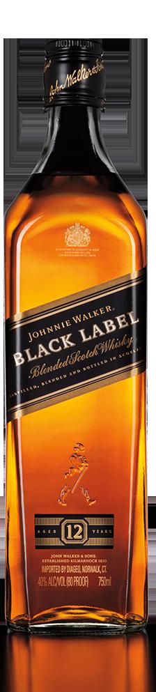 Botella Johnnie Walker Black Label