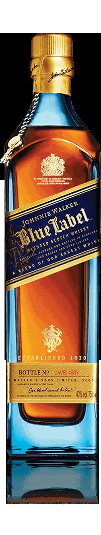 Botella Johnnie Walker Blue Label