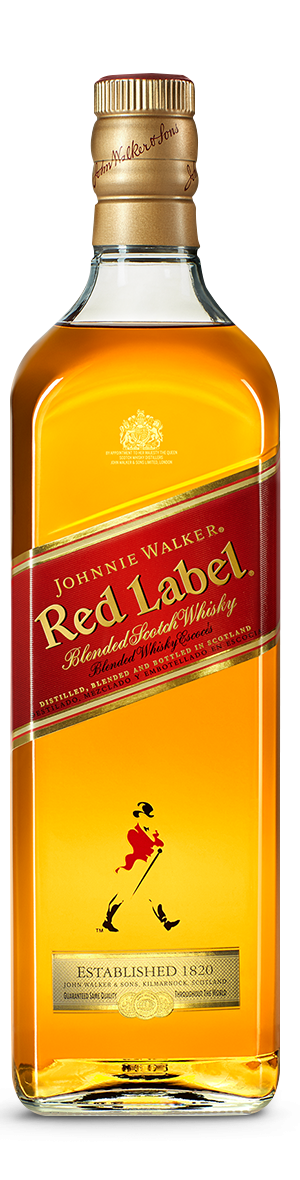 Botella Johnnie Walker Red Label