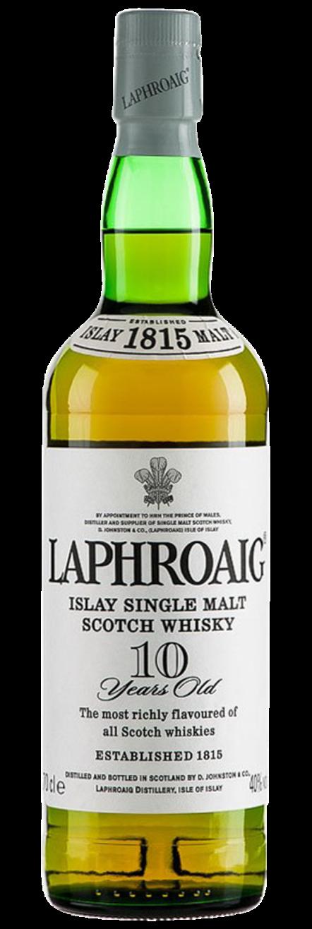 Botella Laphroaig 10 Años