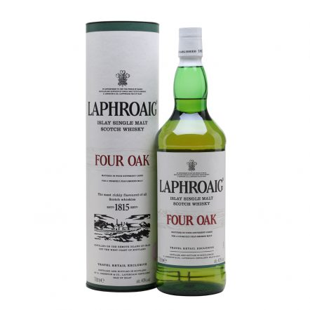 Laphroaig Four Oak con caja
