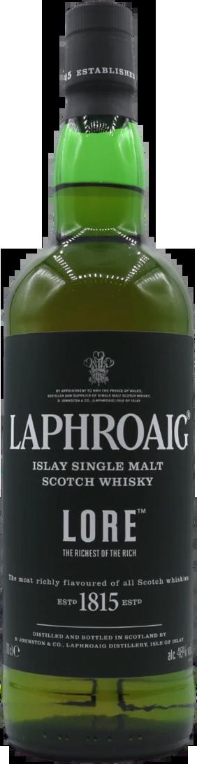Botella Laphroaig Lore