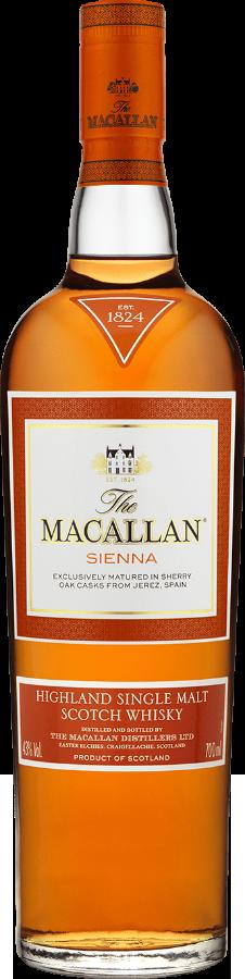 Botella Macallan Sienna