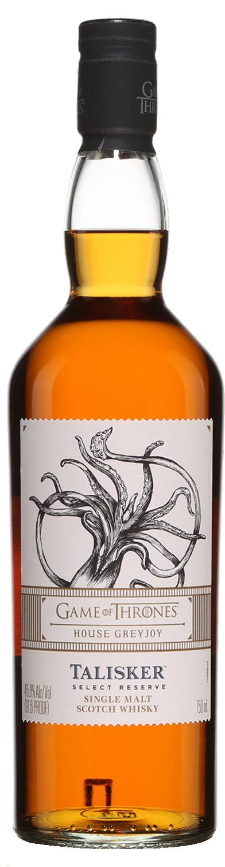 Botella Talisker Select Reserve - Edición Juego de Tronos Casa Greyjoy