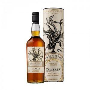 Talisker Select Reserve - Edición Juego de Tronos Casa Greyjoy con caja