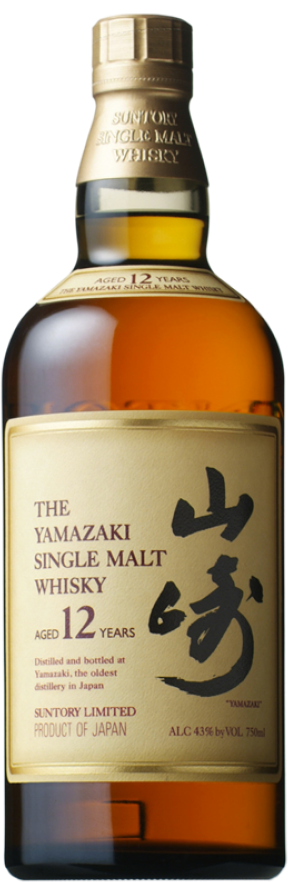 Botella Yamazaki 12 años