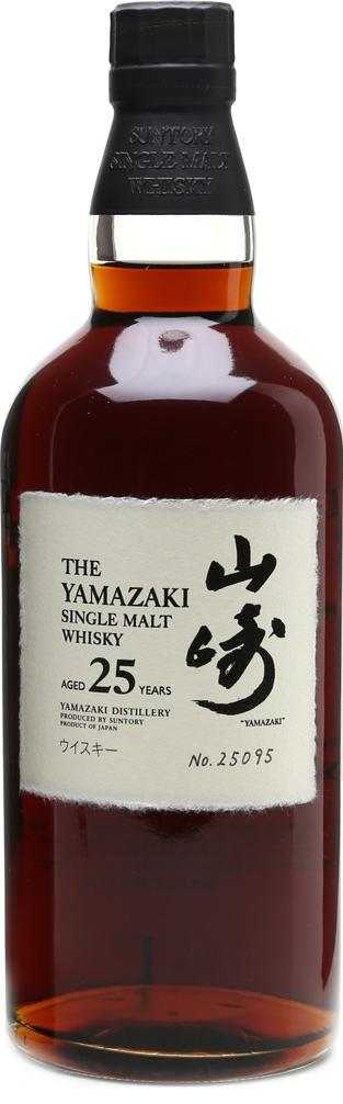 Botella Yamazaki 25 años