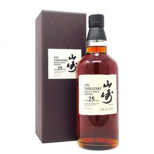 Yamazaki 25 años con caja