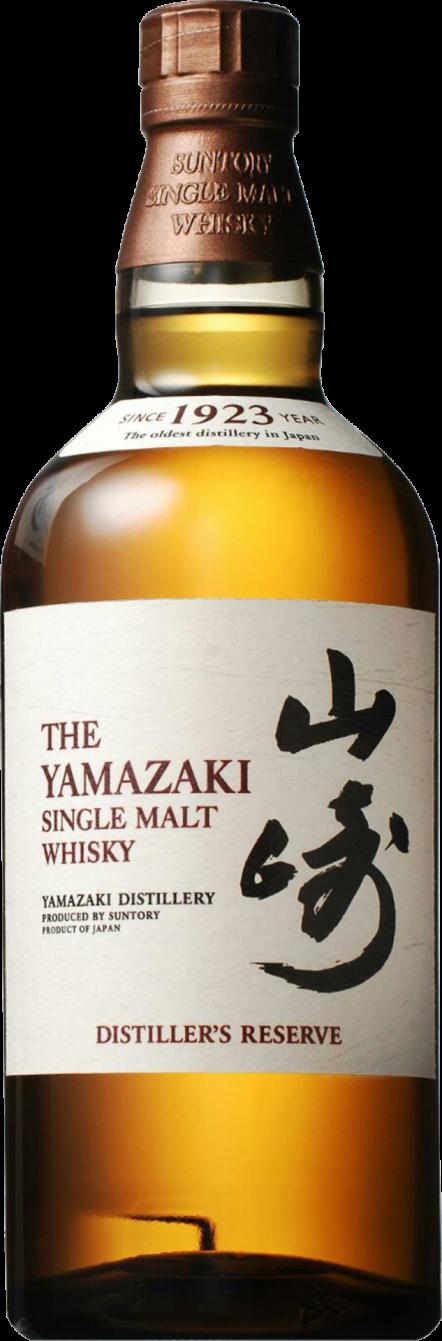 Botella Yamazaki Distiller's Reserve