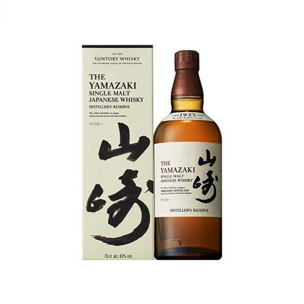 Yamazaki Distiller's Reserve con caja