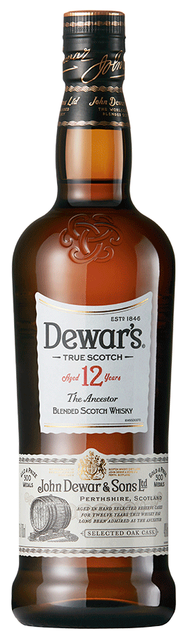 Botella Dewar's 12 años