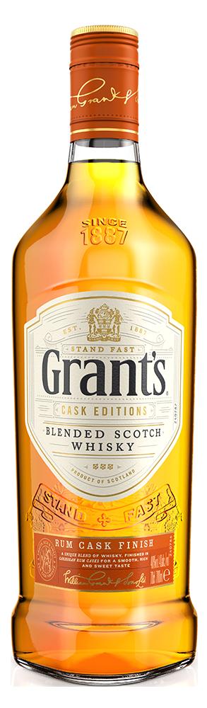 Botella Grant's Rum Cask Edition
