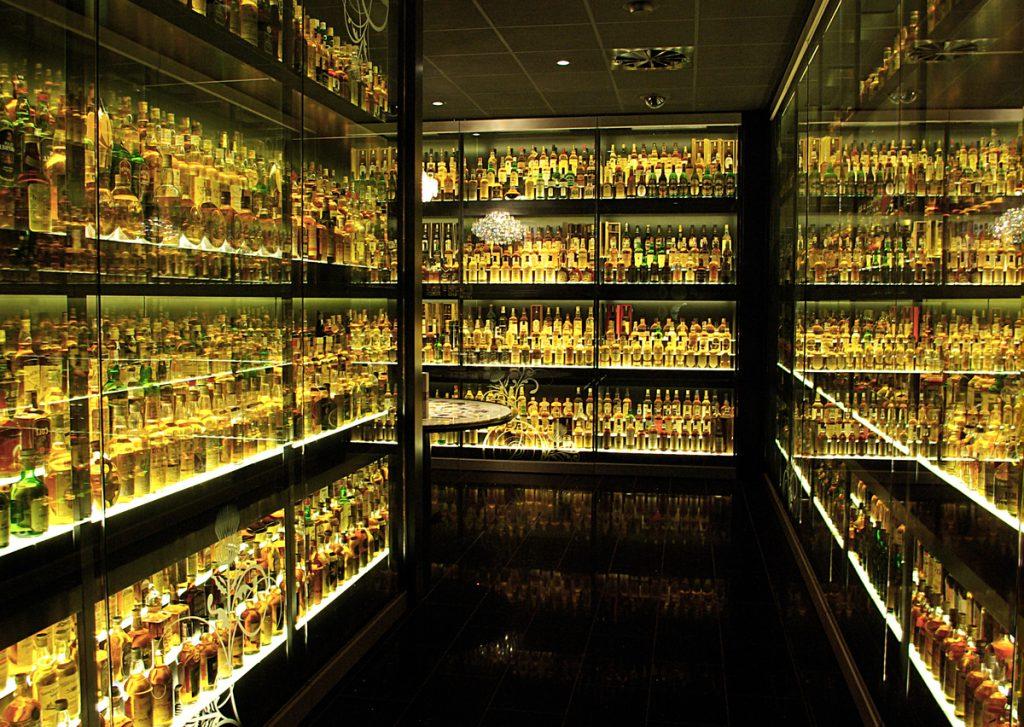 La colección de whisky escocés más grande del mundo