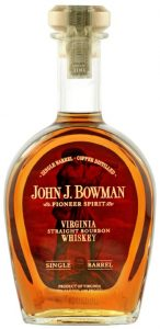 John J. Bowman Virginia Straight Bourbon Whiskey
