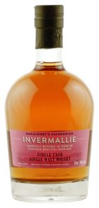 Macaloney's Caledonian Distillery Invermallie Single Cask STR Red Wine Barrique Classic Single Malt Whisky