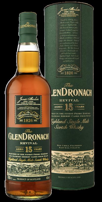 Glendronach Revival 15 años