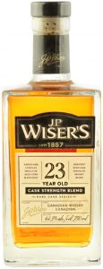 J.P. Wiser's 23 Years Old Cask Strength Blend